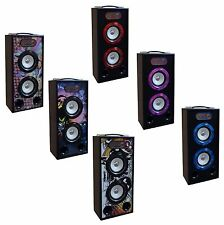 MOBILE BLUETOOTH SOUNDBOXEN - LAUTSPRECHER - RADIO FM - AUX - USB -MICROSD - MP3