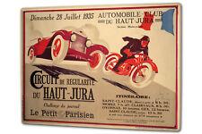 Plaque émaillée Vintage Car Course de Maroc