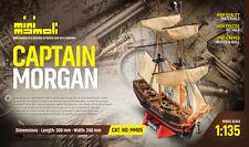 MM05 Captain Morgan ( modellino in legno da costruire )