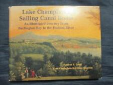Lake Champlain's Sailing Canal Boats, Billington Bay, Hudson River, Cohn Signed!