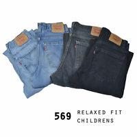 VINTAGE KIDS LEVIS 569 LOOSE FIT JEANS GRADE A W24,W25,W26,W27,W28,W29,W30