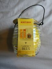 BURTS BEES GIFT SET...Wild for Bees...lip balm and hand salve..new