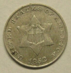 1852 Three Cent Silver Piece Take a Look