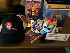 Toasty Rocky Mountain Vibes Bobblehead Mascot and Extras