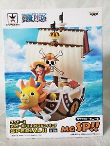 Banpreso One Piece WCF MGSP (Mega Special) Thousand Sunny Ship -US Seller-