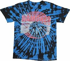 Men's The Ramones Johnny Joey DeeDee Tommy Retro Vintage Tie Dye Band T-Shirt