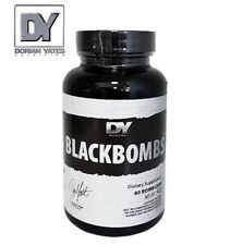 DORIAN YATES - BLACK BOMBS 60CAPS. THERMOGENIC STRONG FAT BURNER LOSE WEIGHT !