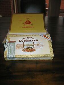 2 x Large Cigar Boxes - for cigar box guitar, display or storage