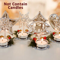 Christmas Decoration Candlestick Desktop Decoration Home Decor Christmas Gift UK