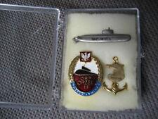 .Poland Polish NAVY Badge Submarine ORP ORZEL,lot of 3