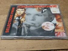 DAVID BOWIE - SELECTION FROM CHANGES BOWIE !!! RARE PROMO CD