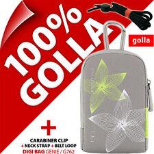 Golla Universal Compact Digital Camera Case Bag Grey for Canon Sony Samsung