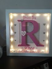 personalised name frames for kids bedroom, gift, birthday