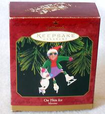 On Thin Ice box Hallmark ornament 1999 Maxine Floyd John Wagner