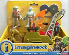 NIB Fisher-Price Imaginext Desert Super Cycle Playset Toy