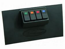 Daystar Lower Dash Switch Panel - 4 Rocker Switches for 07 -10 Jeep Wrangler JK