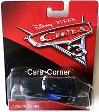 Disney Pixar Cars 3 Jackson Storm 2.0 le Rookie du igntr Team-Neuf & neuf dans sa boîte