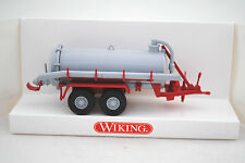 Wiking 382 01 17 Detailed 2-Axle VACUUM TANKER / Vakuumfasswagen MIB