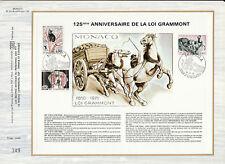 b feuillet CEF Monaco  loi Grammont protection des animaux  chat chien ... 1975
