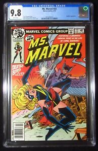 Ms. Marvel #22 (1979) CGC 9.8...Nice Ms. Marvel & Deathbird battle cover