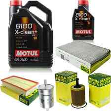 MOTUL 6 L 5W-30 MOTOR-ÖL+MANN-FILTER VW Golf IV 1J1 2.3 V5 4motion 2.8 V6