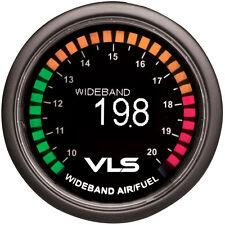 """REVEL VLS WIDEBAND AIR/FUEL RATIO AF AFR GAUGE 52MM 2-1/16"""" OLED LED"""