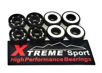 8 Pack 608 RS Xtreme ABEC 11 WHITE SKATEBOARD RATED LONGBOARD SCOOTER BEARINGS