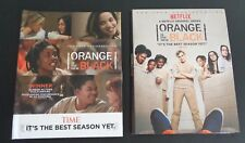 Netflix ORANGE IS THE NEW BLACK For Your Consideration DVD Set Pair FYC FreeShip