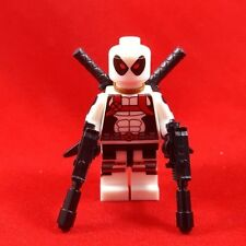 Deadpool WHITE Marvel Super Heroes Minifigures Compatible with LEGO Toy