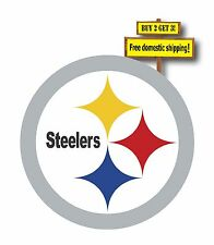 Pittsburgh Steelers Deca/Sticker 3x3 Die Cut FREE SHIPPING NFL Football p97