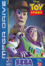 ## SEGA Mega Drive - Toy Story, Disney´s - TOP / MD Spiel ##