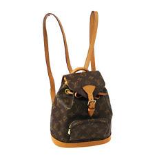LOUIS VUITTON MINI MONTSOURIS BACKPACK HAND BAG MONOGRAM M51137 SP0021 AK45063