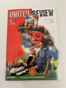 Manchester United V Arsenal 14/03/1998