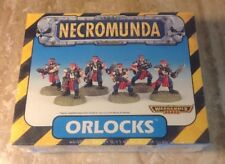 SEALED Warhammer 40k Necromunda Orlocks Plastic Miniature Set 6 Pcs 1998 OOP HTF