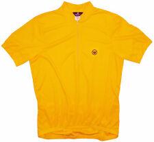 Canari Paceline Cycling Jersey Mens XXL 2X 2XL Short Sleeve Mango Yellow