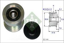 INA Over Running Alternator Clutch Pulley 535 0072 10 535007210 - 5 YR WARRANTY