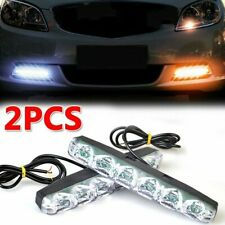 2x LED Tagfahrlicht Tagfahrleuchten DRL Auto Blinker Nebelscheinwerfer Lampe 12V