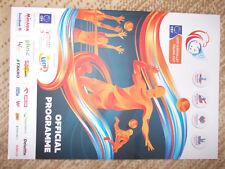 Programme European championship volleyball Poland 2017 EURO VOLLEY 2017