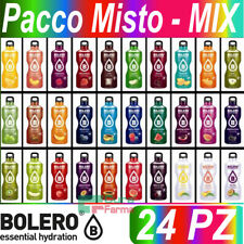 BOLERO DRINK 24 BUSTINE MISTE PREPARATO ISTANTANEO PER ACQUA BEVANDE GUSTI MISTI