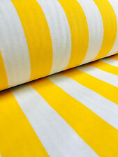 White Striped Fabric Sofia Stripes Curtain Upholstery Material 280cm EXTRA wide