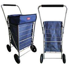 4 rueda Balanceado fuerte 55Ltr ligero carrito de la compra Wheelie Bolso Carro