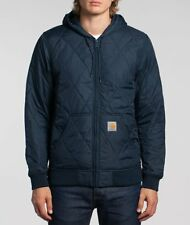 CARHARTT Active Liner Quilted Mens Jacket Size M Hooded Utility Thinsulate £140