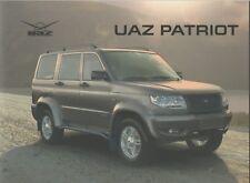 UAZ Patriot SUV car (made in Russia) _2014 Prospekt / Brochure