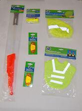 8tlg. Kinder Fahrrad Sicherheitspaket für den Schulstart Reflekoren Fahrradfahne