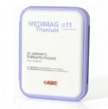Coffret Aimants Thérapeutiques Médimag Titanium Auris Diamètre 11 mm