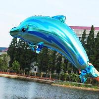 Cute Cartoon Animal Dolphin Foil Balloon For Birthday Wedding Party Decoration