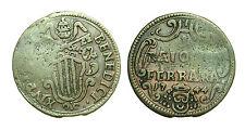 pcc1330_2) Ferrara St Pontificio Benedetto XIV (1740-1758) 1 BAIOCCO 1744 rara
