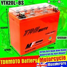 YTX20L-BS motorcycle Battery for Harley-Davidson FXD/FXST Dyna Honda CBX1000