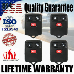 4 Keyless Entry Remote Control Car Key Fob For Ford F150 Expedition Escape Focus