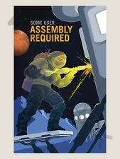 NASA POSTER SPACE EXPLORATION JOB ADVERT ASSEMBLY ART PRINT HP3816